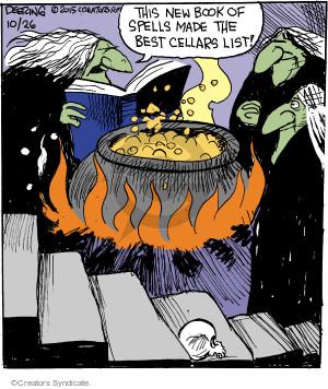Cartoonist John Deering  Strange Brew 2015-10-26 magic