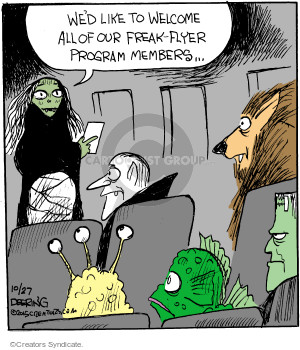 Comic Strip John Deering  Strange Brew 2015-10-27 travel