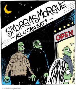 Cartoonist John Deering  Strange Brew 2015-10-29 eat