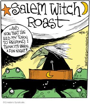 Cartoonist John Deering  Strange Brew 2015-10-30 magic