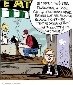 Cartoonist John Deering  Strange Brew 2015-11-09 eat