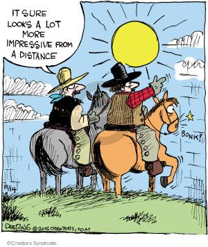 Comic Strip John Deering  Strange Brew 2015-11-14 wall