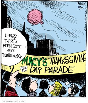 Comic Strip John Deering  Strange Brew 2015-11-25 Thanksgiving