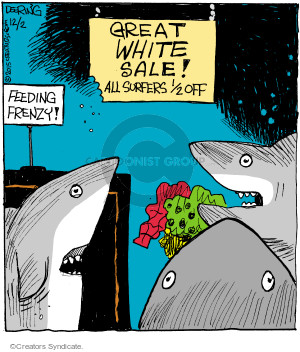 Comic Strip John Deering  Strange Brew 2015-12-02 frenzy