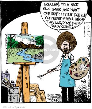 Comic Strip John Deering  Strange Brew 2015-12-08 paint