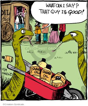 Comic Strip John Deering  Strange Brew 2015-12-09 fraud