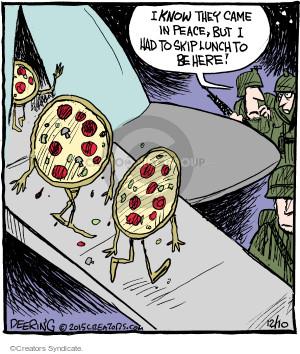 Comic Strip John Deering  Strange Brew 2015-12-10 UFO