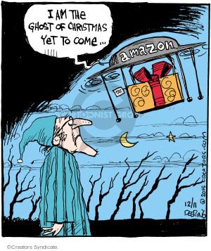 Cartoonist John Deering  Strange Brew 2015-12-11 future technology