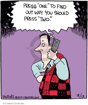 Comic Strip John Deering  Strange Brew 2015-12-12 line