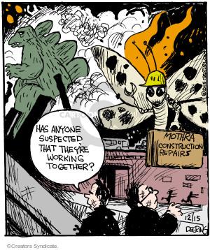 Comic Strip John Deering  Strange Brew 2015-12-15 science fiction movie