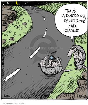 Comic Strip John Deering  Strange Brew 2015-12-16 road
