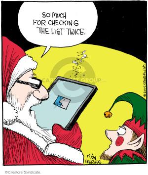 Cartoonist John Deering  Strange Brew 2015-12-24 Santa Claus