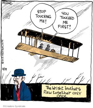 Comic Strip John Deering  Strange Brew 2015-12-29 argument