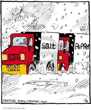 Comic Strip John Deering  Strange Brew 2016-01-06 road
