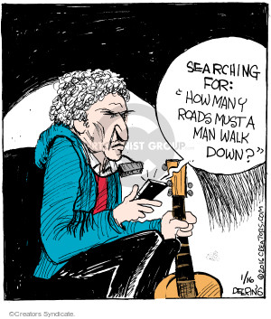 Comic Strip John Deering  Strange Brew 2016-01-16 road