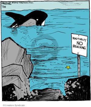 Comic Strip John Deering  Strange Brew 2016-01-28 John