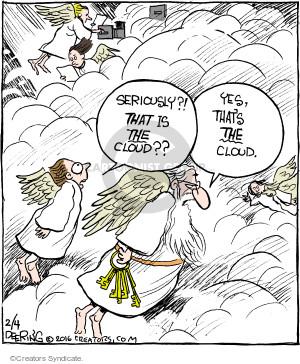 Comic Strip John Deering  Strange Brew 2016-02-04 God