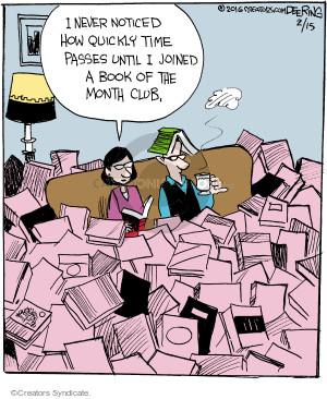 Comic Strip John Deering  Strange Brew 2016-02-15 passage of time