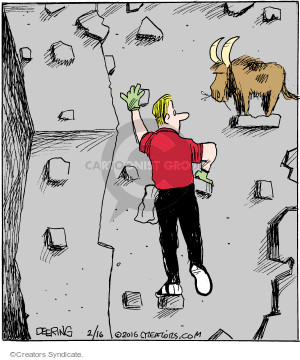 Comic Strip John Deering  Strange Brew 2016-02-16 wall