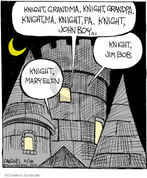 Comic Strip John Deering  Strange Brew 2016-02-18 TV series