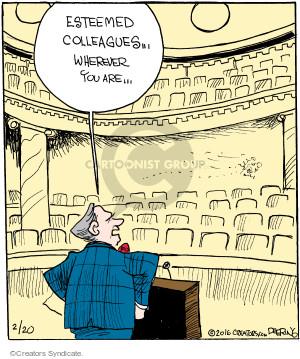 Comic Strip John Deering  Strange Brew 2016-02-20 speech