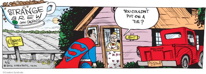 Comic Strip John Deering  Strange Brew 2016-03-06 clothes