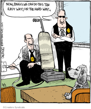 Comic Strip John Deering  Strange Brew 2016-03-02 policeman