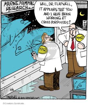 Comic Strip John Deering  Strange Brew 2016-03-08 ocean