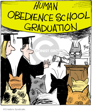 Comic Strip John Deering  Strange Brew 2016-03-15 school