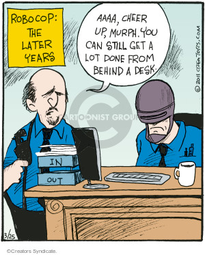 Comic Strip John Deering  Strange Brew 2016-03-25 policeman