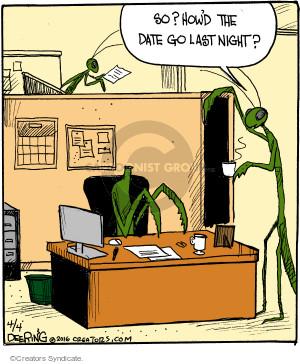 Cartoonist John Deering  Strange Brew 2016-04-04 date