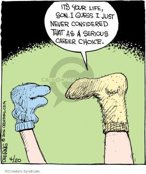 Cartoonist John Deering  Strange Brew 2016-04-20 hand