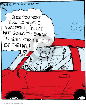 Comic Strip John Deering  Strange Brew 2016-05-03 global positioning system