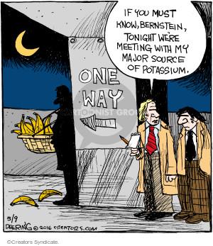 Comic Strip John Deering  Strange Brew 2016-05-09 food source
