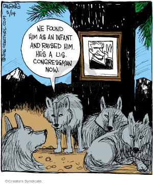 Comic Strip John Deering  Strange Brew 2016-05-14 congressman