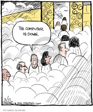 Comic Strip John Deering  Strange Brew 2016-05-17 line