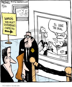 Comic Strip John Deering  Strange Brew 2016-05-25 cow
