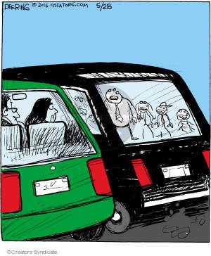 Comic Strip John Deering  Strange Brew 2016-05-28 family