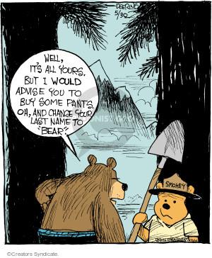 Comic Strip John Deering  Strange Brew 2016-05-30 change