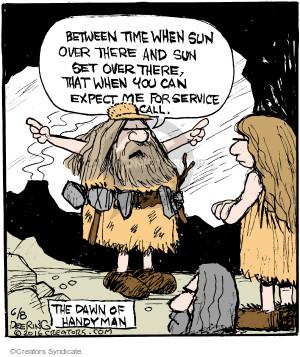 Comic Strip John Deering  Strange Brew 2016-06-08 caveman