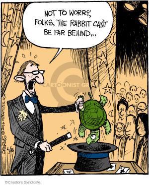 Cartoonist John Deering  Strange Brew 2016-06-16 magic