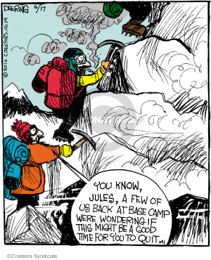 Cartoonist John Deering  Strange Brew 2016-06-17 cigarette