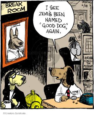 Comic Strip John Deering  Strange Brew 2016-06-18 month