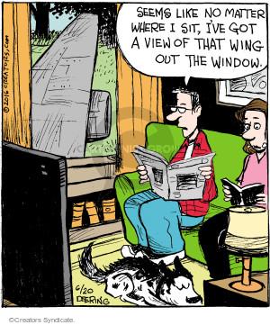 Comic Strip John Deering  Strange Brew 2016-06-20 sight