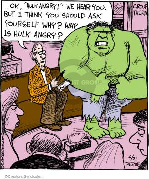 Comic Strip John Deering  Strange Brew 2016-06-21 anger