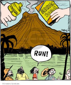 Comic Strip John Deering  Strange Brew 2016-06-22 God