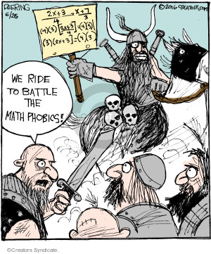 Comic Strip John Deering  Strange Brew 2016-06-25 algebra