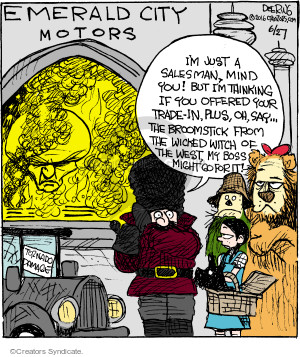 Cartoonist John Deering  Strange Brew 2016-06-27 guard