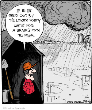 Comic Strip John Deering  Strange Brew 2016-07-04 lower