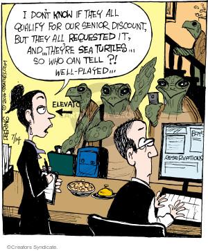 Comic Strip John Deering  Strange Brew 2016-07-14 turtle
